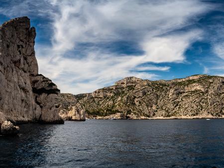 Calanque de Sormiou à découvrir en bateau à Marseille