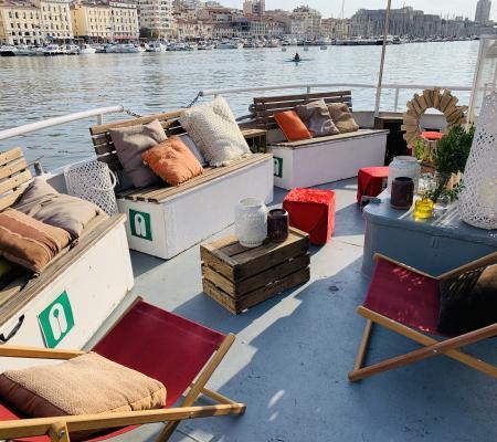 Anniversaire au cœur de la rade de Marseille