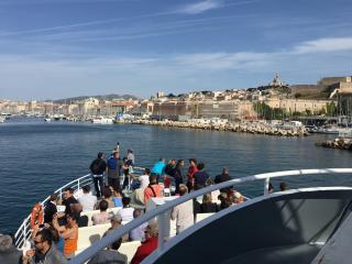 Baptême hors du commun depuis le Vieux-Port de Marseille