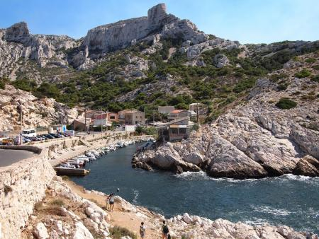 Calanques Callelongue à Marseille