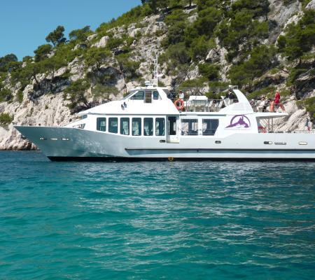 Demi-journée en bateau découverte des calanques