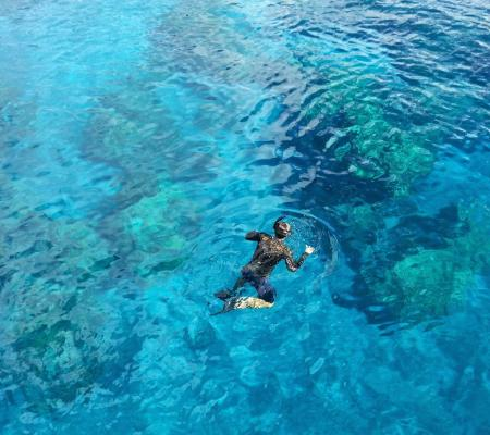 Snorkeling / water hiking