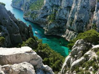 Visite du Parc National des Calanques