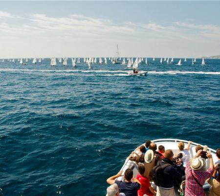 Nautical events from the Bay of Marseille