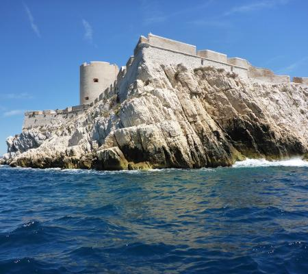 Bay of Marseille and If Castle