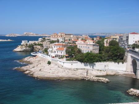 Petit port de Malmousque à Marseille