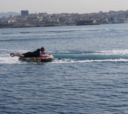 Tubing in Marseille: thrills in the Mediterranean Sea