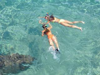 Enterrement de vie de jeune fille en mer à Marseille