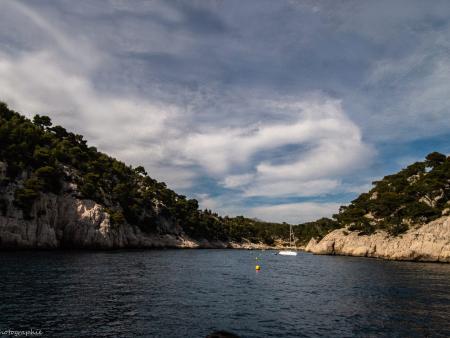 Calanque Marseillaise de Port-Pin à visiter à bord de nos navires