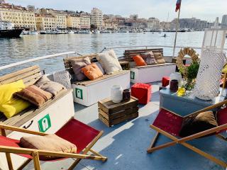 Séminaire à bord de l'Ilienne Vieux-Port de Marseille