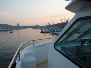Apéritif pot de départ et pot de thèse sur le Vieux-Port de Marseille