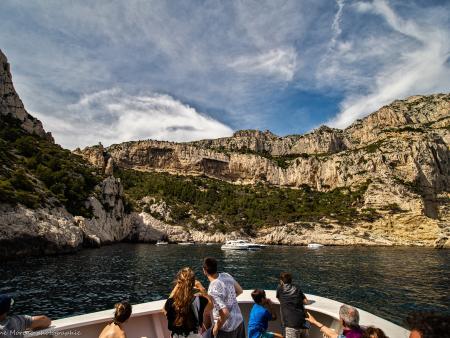 Découverte en bateau des calanques de Morgiou et Sugiton à Marseille