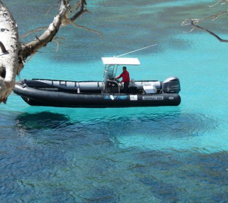 """Visit the creeks aboard the """"Calanques Express"""": sensation boat"""