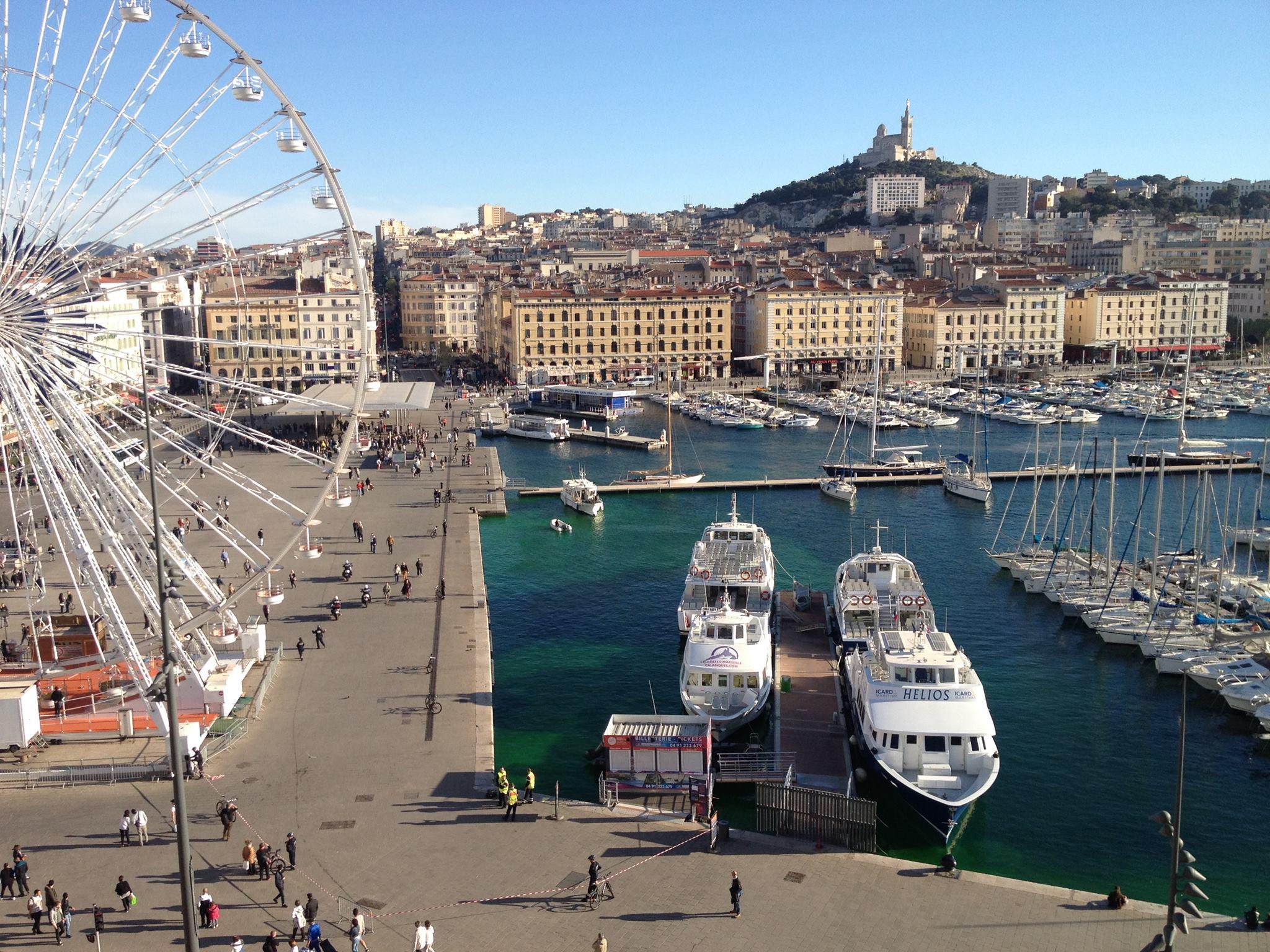 Bay of marseille and if castle our boat tours - Au vieux port restaurant marseille ...